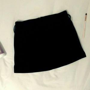 No Boundaries Stretch Black Mini Skirt